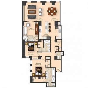 2 Bedroom 4B